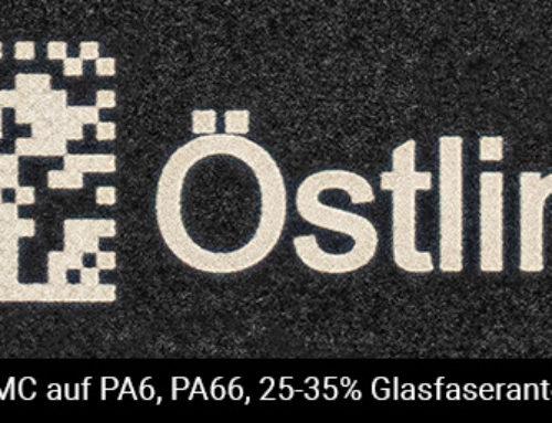 A-Qualität Ihrer DataMatrix Codes auf Kunststoffen – mit ÖSTLING Lasern!