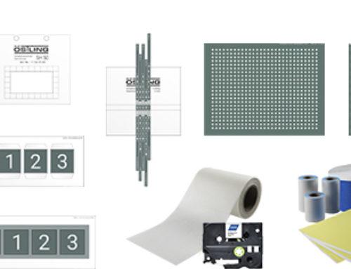 Die originalen ÖSTLING Schablonen für das elektrolytische Markieren